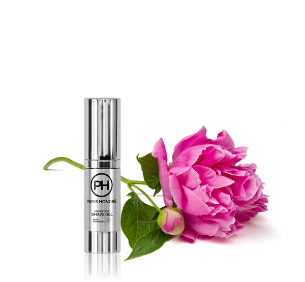 Hydrating Shave Gel in Peony 15ml by PH Simply Skincare