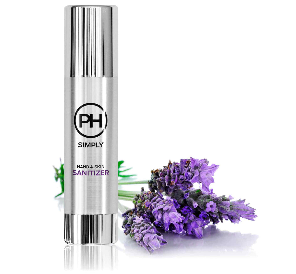 PH Simply Organic Hand and Skin Sanitizer in French Lavender 100ml