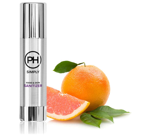 PH Simply Organic Hand and Skin Sanitizer in Grapefruit and Linen 100ml