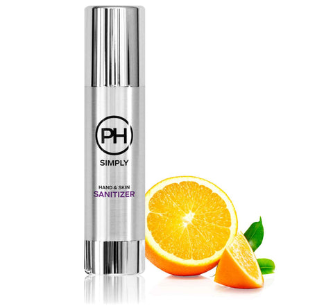 PH Simply Organic Hand and Skin Sanitizer in Orange Citrus 100ml