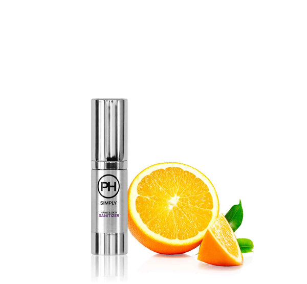PH Simply Organic Hand and Skin Sanitizer in Orange Citrus 15ml