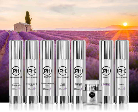 PH Simply Ultimate Skincare Set in French Lavender 100ml