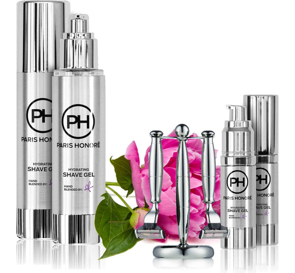Hydrating Shave Gel in Peony by PH Simply Skincare