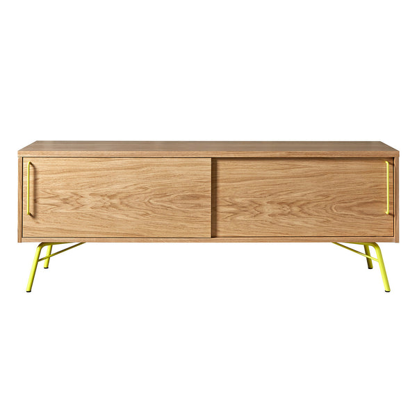 Tv konsole ashburn woodman gelb b 145 cm x h 53 cm x t for Sideboard gelb