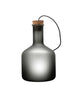 Labware grey glass table floor lamp cylinder limited edition