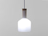 Labware glass pendant lamp cylinder