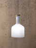Labware glass pendant lamp cylinder designed by Benjamin Hubert