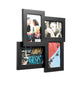"photo frame for 4 4""x6"" photos black"