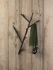 Oak Branch wall clothes hanger in black