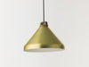 Handle H33 brass anodised aluminium pendant lamp