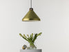 Handle H33 brass  pendant lamp by Josie Morris