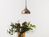 Vienna 21 raw copper pendant lamp