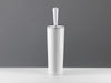 White ceramic toilet brush holder