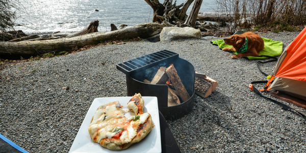 Recipe: Campfire Pizza