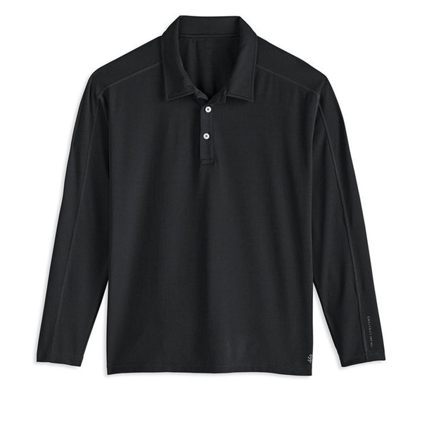 Coolibar Men's Golf Performance Long Sleeve Shirt
