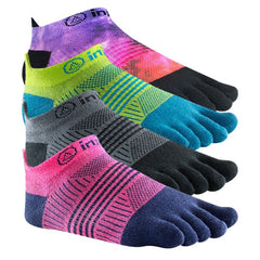 Injinji Run Womens Lightweight No Show Toe Socks