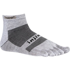 Injinji Run Lightweight Mini Crew Toe Socks