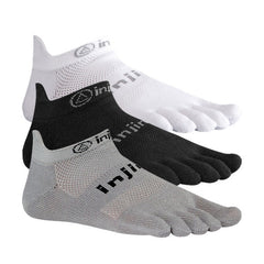 Injinji Run Original Weight No Show Toe Socks