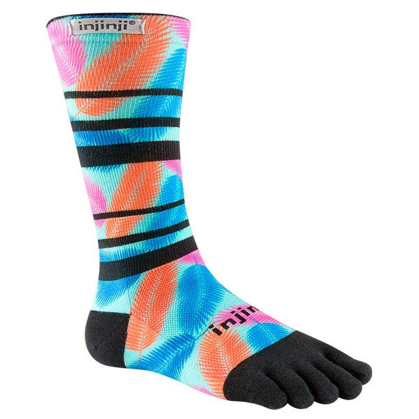 Injinji Run Lightweight Crew Toe Socks