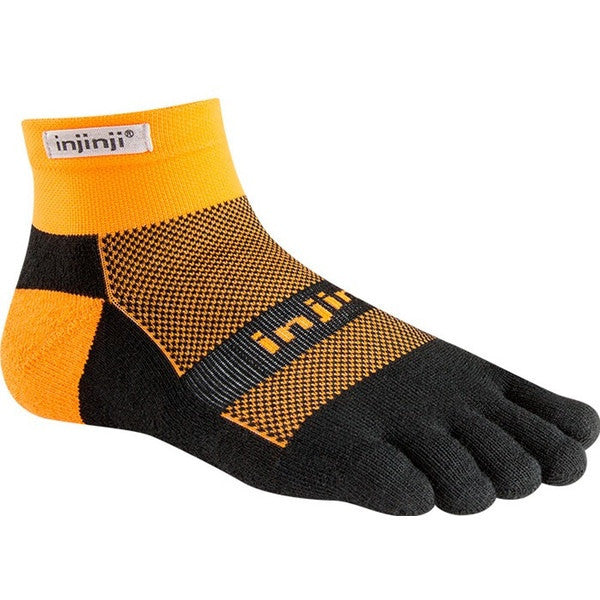 Injinji Run Midweight Mini Crew Toe Socks