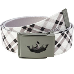 Meister Player Golf Web Belt - Modern Plaid