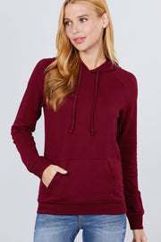 Ladies French Terry Pullover Hoodie - Tigbul's Variety Fashion Shop