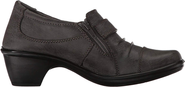 Easy Street Women's Mika Round Toe Ankle Fashion Boots Black US Size 8M