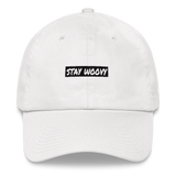 Stay Woovy Dad hat - White
