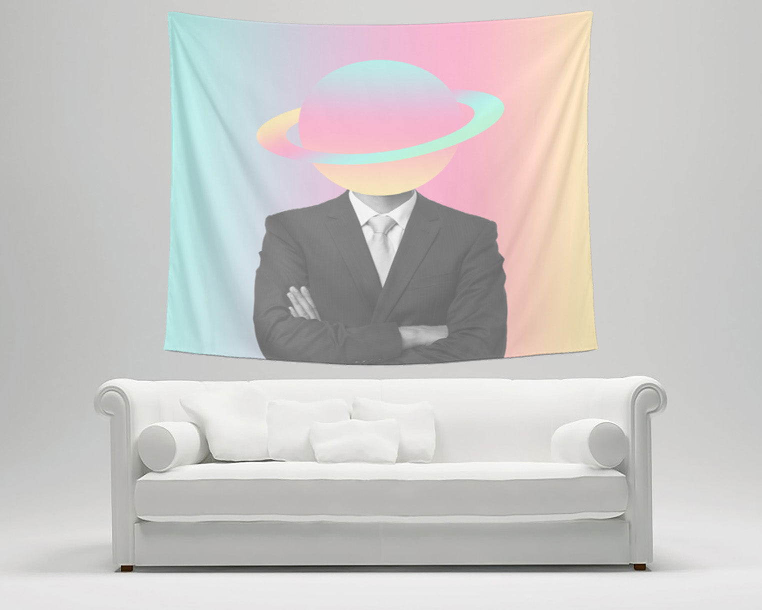 Space Man Tapestry