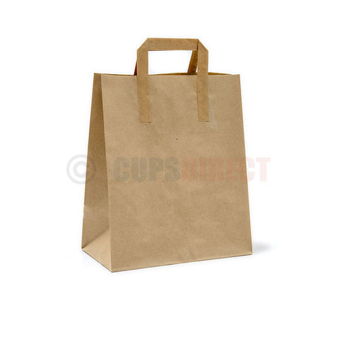 Brown Paper Bags - SOS Handle Range