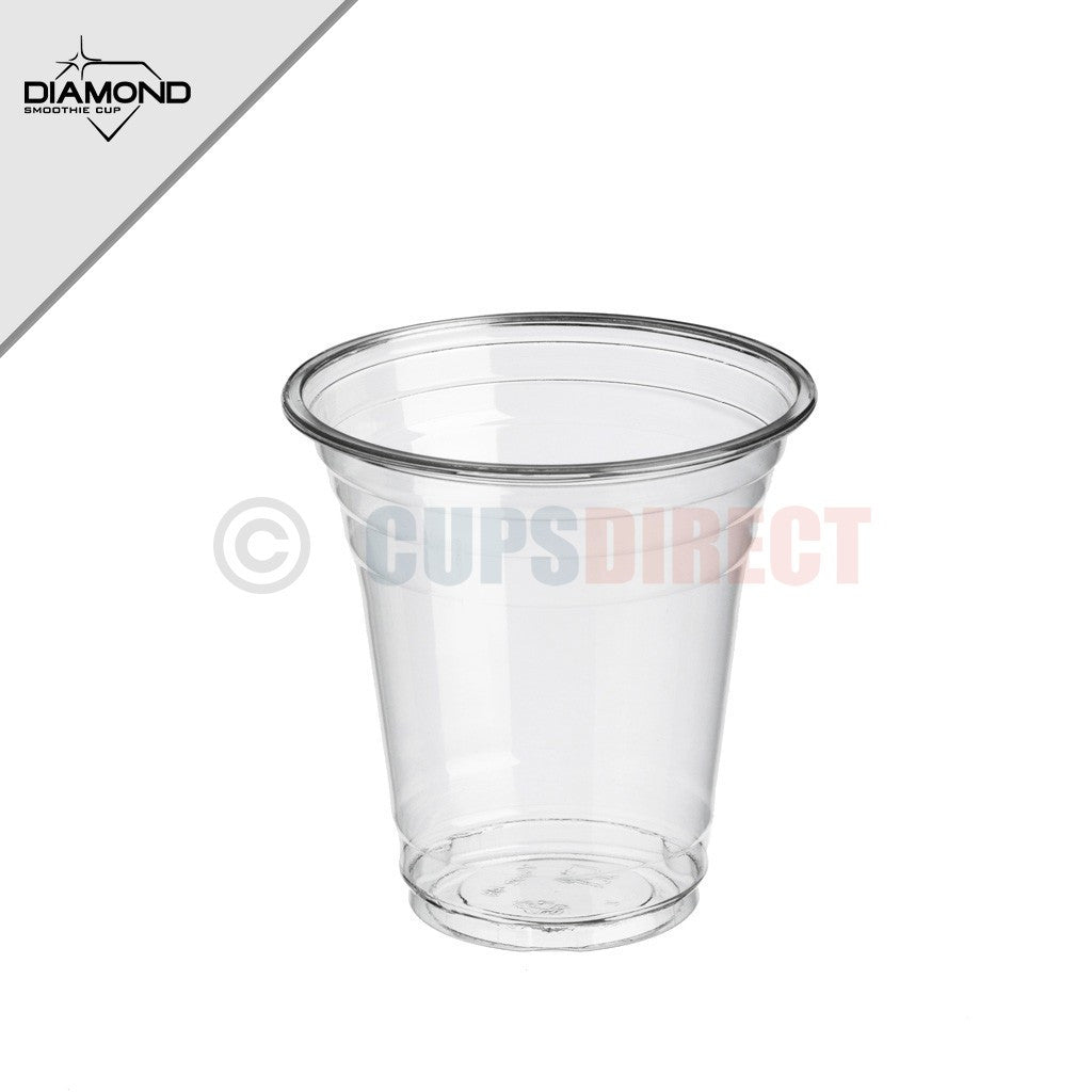 10 oz Cups, 1000 Pack | Iced Coffee Go Cups and Dome Lids | Cold Smoothie | Plastic Cups with Dome Lids | Clear Plastic Disposable Pet Cup | Ideal for