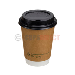 Bio Recyclable - Double Wall Kraft Hot Cup Range