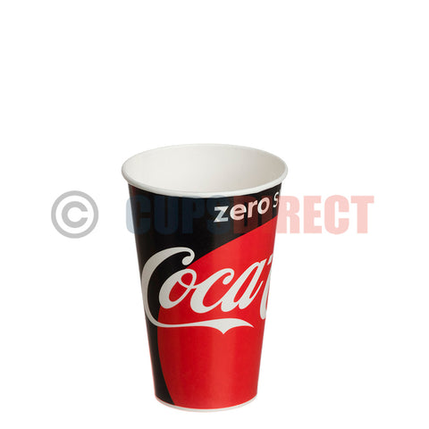 cold paper coke zero cups
