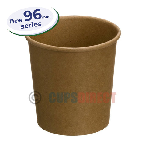 Kraft Soup and Food Container - 96mm Series