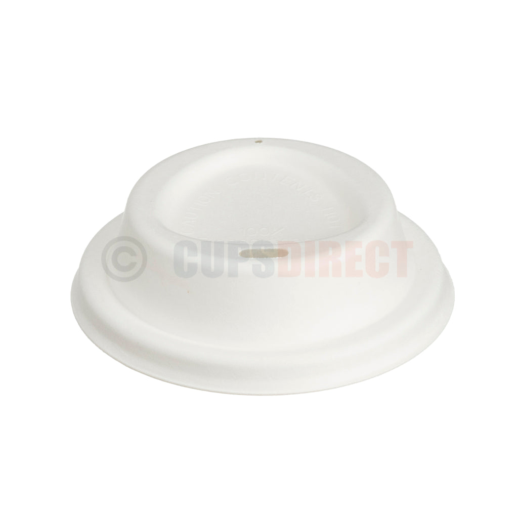 Compostable Bagasse Hot Cup - Lid Range