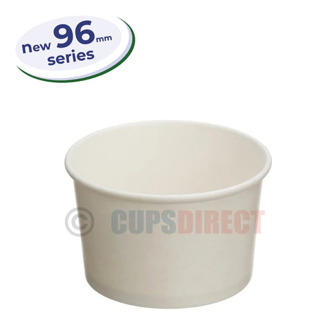 White Soup and Food Container - 96mm Series