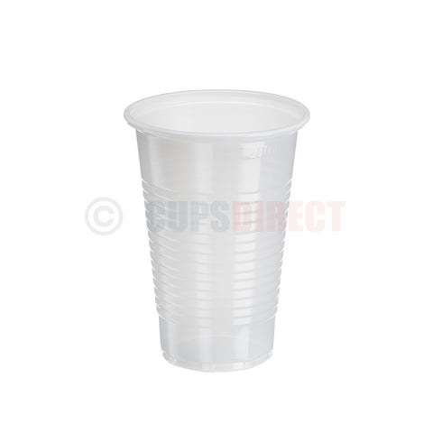 Basic White Plastic Cup