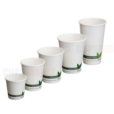 Bio Single-Wall Hot Cup Range