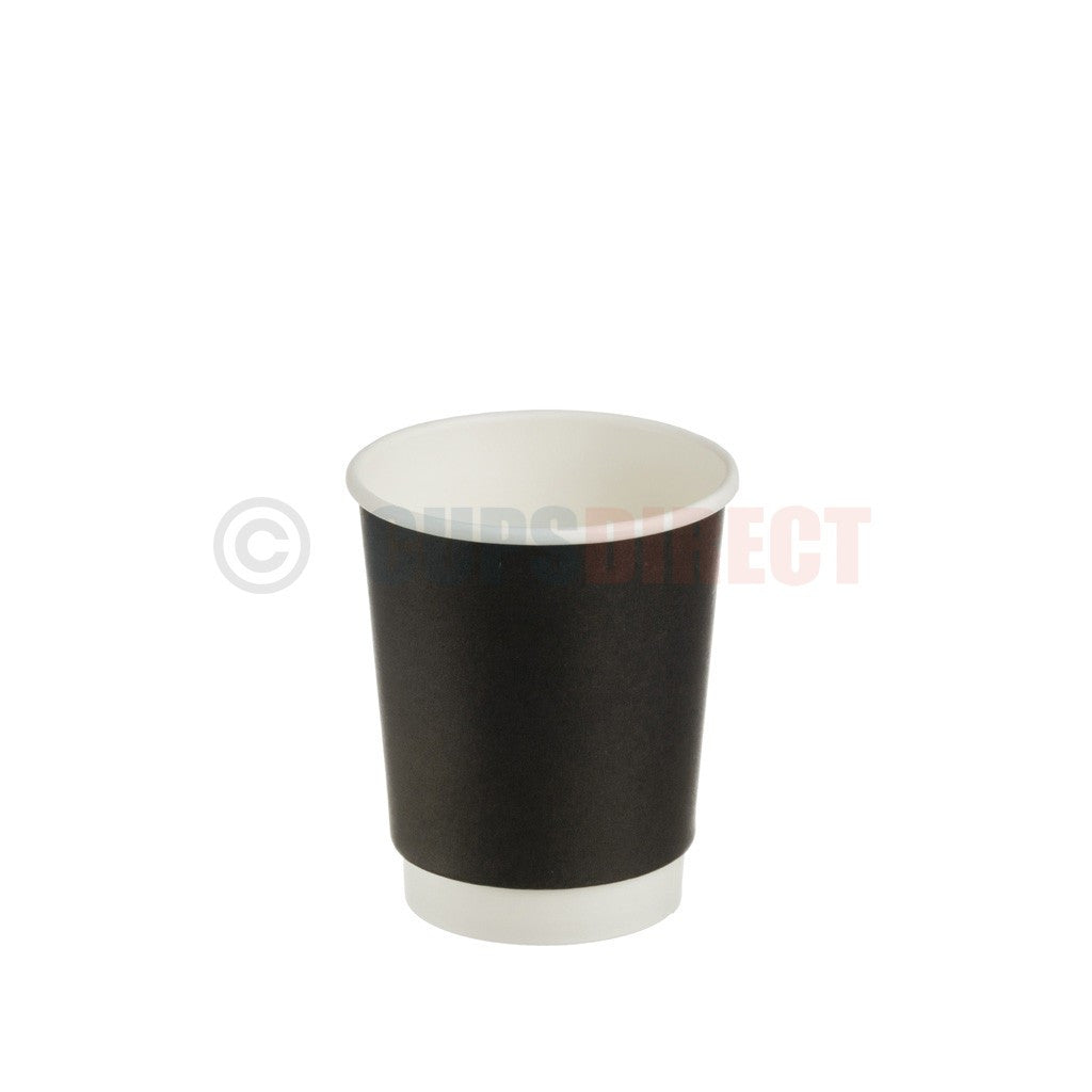 Black Double-Wall Hot Cup Range