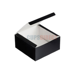 Black Food Boxes and Tray Range