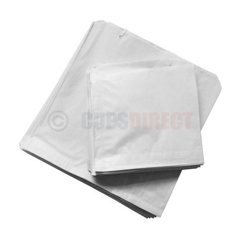 White Sulphite Paper Bag