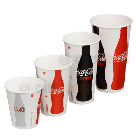 Paper Coke Cup, Iconic Range
