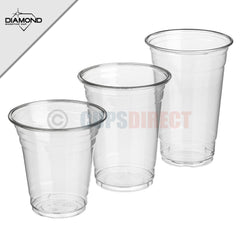Diamond Plastic Smoothie Cup Range