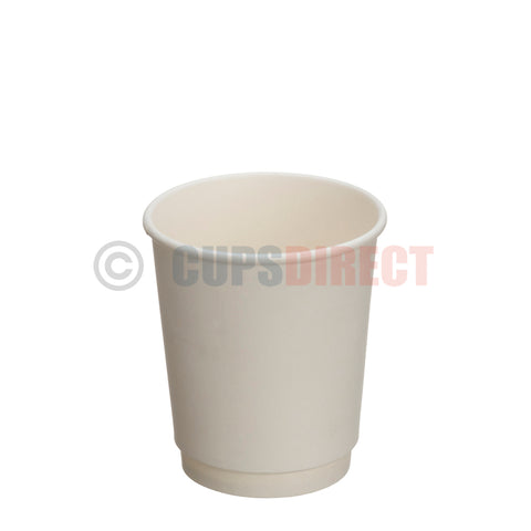 White Double-Wall Hot Cup Range