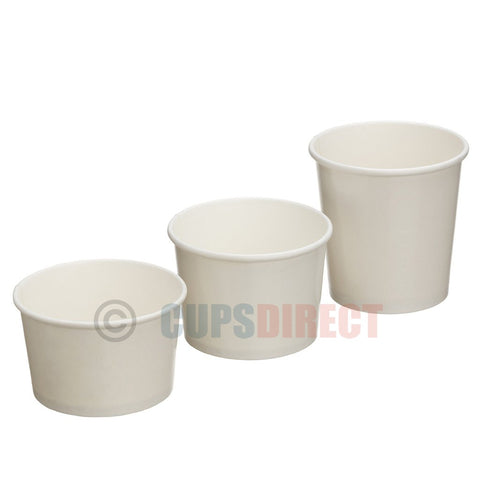 White Heavy Duty Soup Pot Range