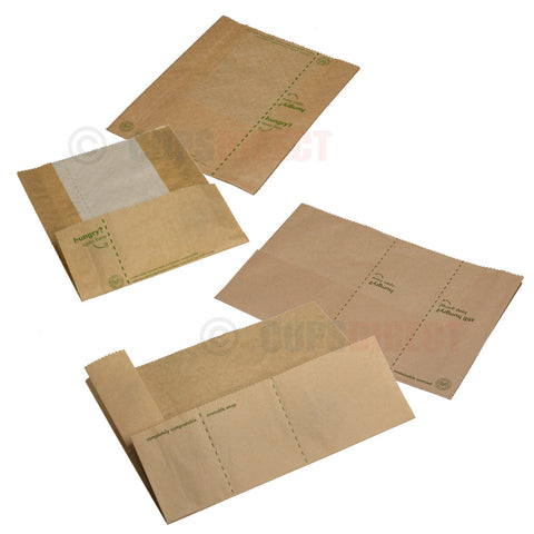 Vegware Compostable Kraft Panini Range