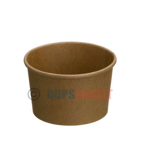 8oz Kraft Heavy Duty Food Container and Soup Pot