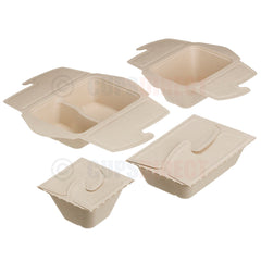 Sabert BePulp - Meal Box to Go Range