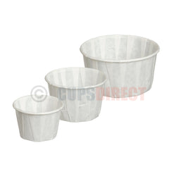 Paper Souffle Portion Pot Range