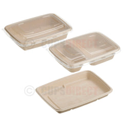 Sabert BePulp - Rectangular Container Range
